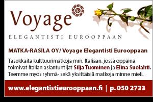 Voyage elegantisti eurooppaan